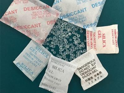 Gói hút ẩm silica gel- giải pháp bảo quản sản phẩm tuyệt vời